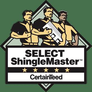 select shingle master logo