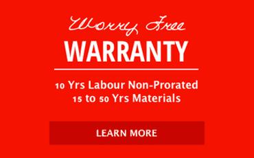 worry free warranty