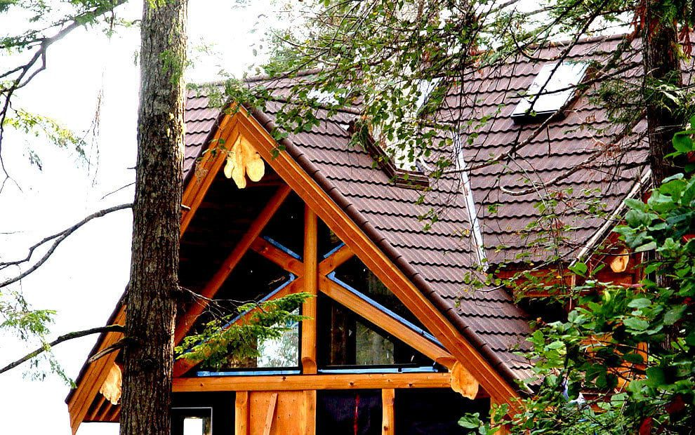 A beautiful house roofing project