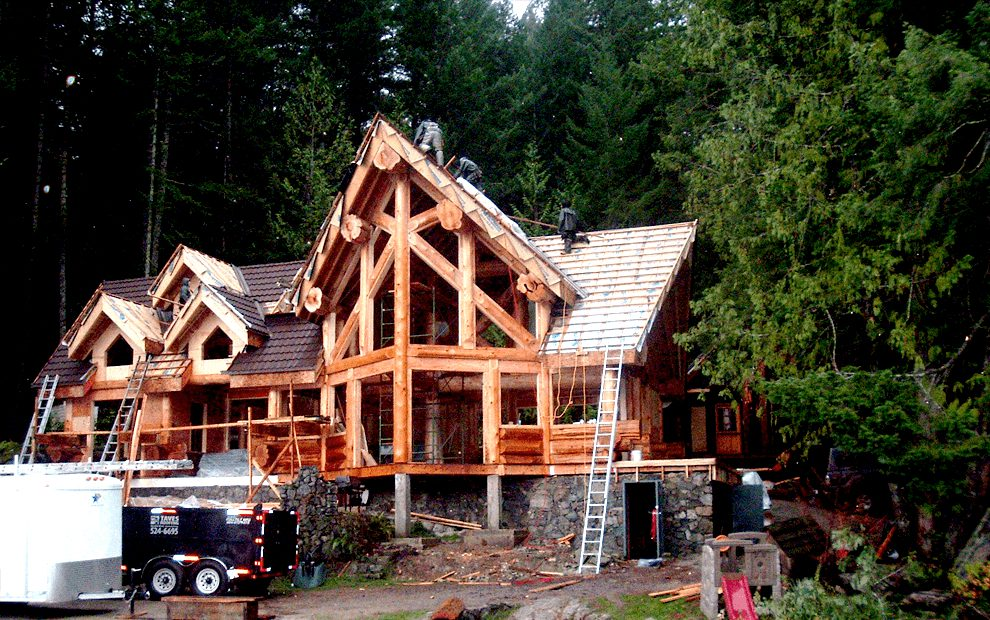 A newly built house in Maple Ridge install with new roofing